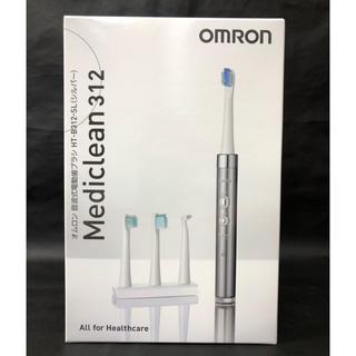 オムロン(OMRON)の新品未使用 オムロン 音波式電動歯ブラシ HT-B312-SL シルバー(電動歯ブラシ)