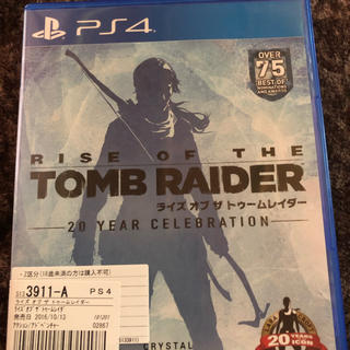 PlayStation4 - ライズオブトゥームレイダー  ps4