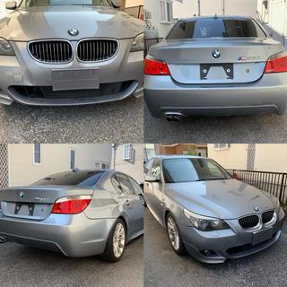 BMW - 予備検取得済 実走行6.2万km 530iMスポーツ 新車時〜整備記録有 E60