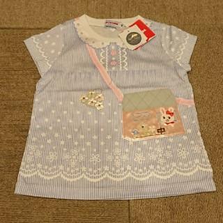 ミキハウス(mikihouse)の新品 ミキハウス うさこ だまし絵Tシャツ(Tシャツ)