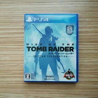 PlayStation4 - ライズオブザトゥームレイダー RISE OF THE TOMB RAIDER