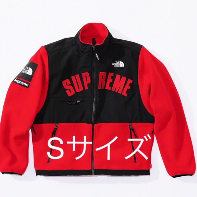 Supreme(シュプリーム)のSupreme ノースフェイス Denali Fleece Jacket 赤S メンズのジャケット/アウター(ブルゾン)の商品写真