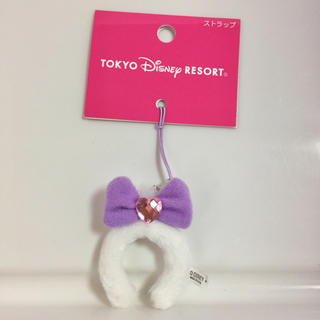 Disney - デイジー カチューシャストラップ