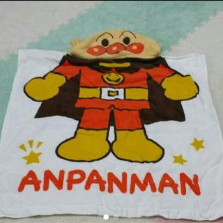 アンパンマン(アンパンマン)のアンパンマン フードつきタオル(その他)
