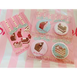 Shirley Temple - シャーリーテンプル☆店舗限定 缶バッジ 2セット 新品です。