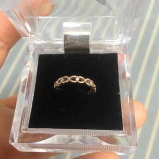 ヨンドシー(4℃)の4℃ リング ダイヤ k10 ピンクゴールド(リング(指輪))
