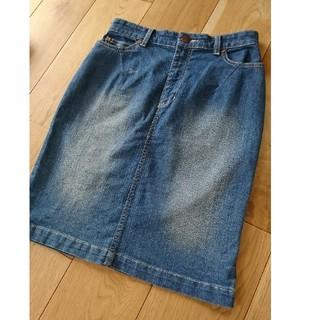 ビッキー(VICKY)のビッキー デニムスカート(ひざ丈スカート)