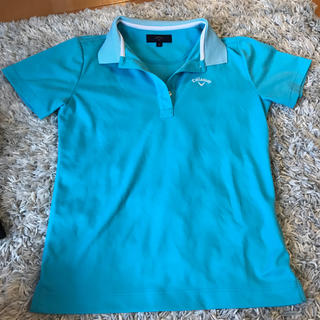 キャロウェイ(Callaway)のポロシャツ 水色 キャロウェイ(ポロシャツ)