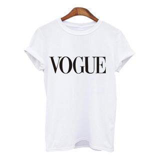 ZARA - VOGUE tシャツ ブランド プリントtシャツ ホワイト M 入荷中