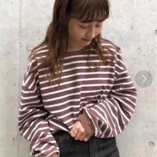 Kastane - ボーダーBIGプルオーバー★kastane