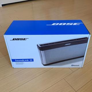 ボーズ(BOSE)のBOSE SoundLink Bluetooth Speaker Ⅲ(スピーカー)