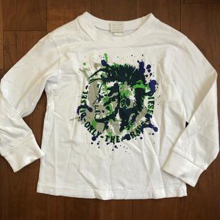 ディーゼル(DIESEL)のdiesel ディーゼル キッズ 100 4Y 本物 長袖 美品子供 Tシャツ(Tシャツ/カットソー)