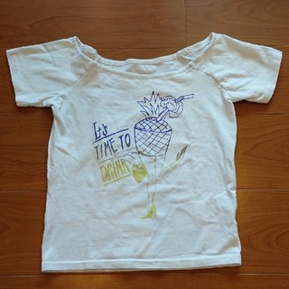 スライ(SLY)のSLY オフショルTシャツ(Tシャツ(半袖/袖なし))