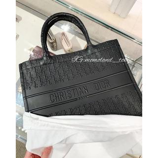 ディオール(Dior)のセール★Dior Book Tote スモール ブックトート レザー ブラック(トートバッグ)