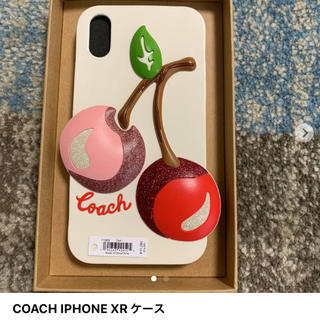 コーチ(COACH)のCOACH IPHONE XR ケース(iPhoneケース)