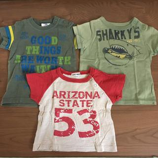 ドンキージョシー(Donkey Jossy)のTシャツ 80 3セット キッズブランド(シャツ/カットソー)