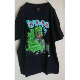 schott - NOFX ノーエフエックス ツアーT ビッグサイズ 怪獣T  Tシャツ