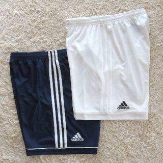 アディダス(adidas)の*新品*アディダス メンズOサイズ トレーニングショーツ2色セット(ウェア)