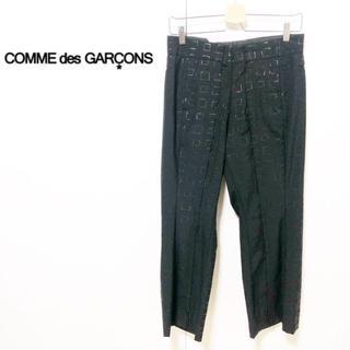 コムデギャルソン(COMME des GARCONS)のCOMMEdesGARCONS/立体裁断 変形シルエットスラックス M(スラックス)