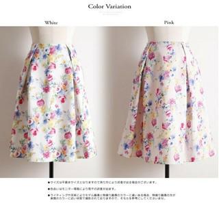 tocco - tocco closet*視線を奪う彩色フラワープリントスカート