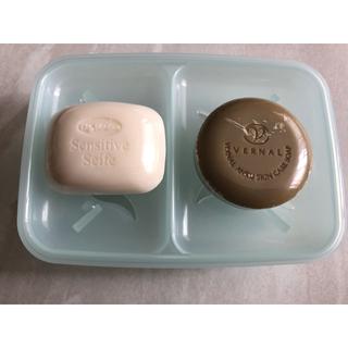VERNAL - ヴァーナル 洗顔ソープ 洗顔泡 水切り容器つき