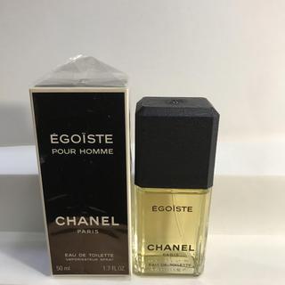 シャネル(CHANEL)のシャネル 香水 エゴイスト 【未使用】(香水(男性用))
