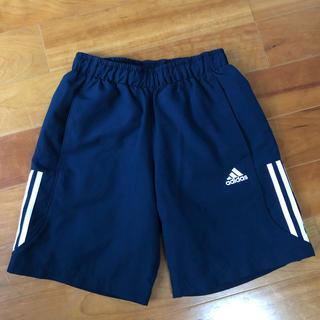 adidas - adidas短パン紺サイズS、140〜150cm