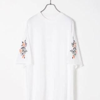 HARE - 刺繍 tシャツ ハレ HARE シシュウ