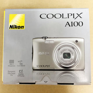 Nikon - ニコン デジタルカメラ クールピクス A100 シルバー