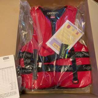 Supreme - supreme OBRIEN Life Vest RED M 新品正規品