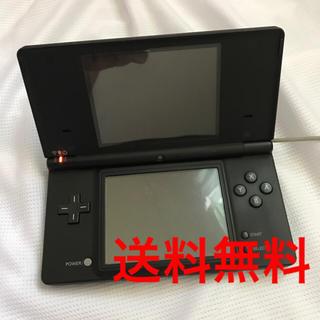 ニンテンドウ(任天堂)のNintendo DS i 黒 本体  ジャンク品(携帯用ゲーム本体)