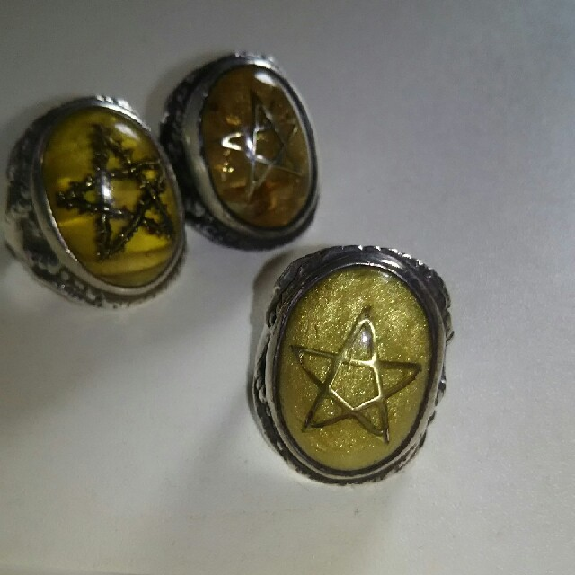 アレックスストリーター 2011年限定 ホワイトパール 15号 木箱付き メンズのアクセサリー(リング(指輪))の商品写真
