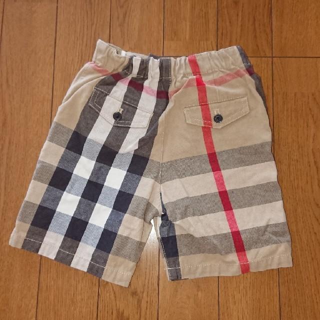BURBERRY(バーバリー)のハーフパンツ キッズ/ベビー/マタニティのベビー服(~85cm)(パンツ)の商品写真