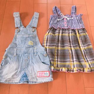 ベビードール(BABYDOLL)の100センチ♡ワンピース&ジャンパースカート(ワンピース)