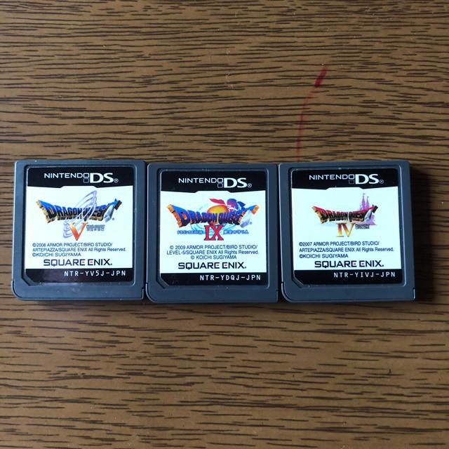 ニンテンドーDS(ニンテンドーDS)のDSソフト ドラゴンクエストシリーズ 3点 エンタメ/ホビーのゲームソフト/ゲーム機本体(携帯用ゲームソフト)の商品写真