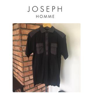 JOSEPH - JOSEPH HOMME/ジョゼフオム☆半袖シャツ/ブラック系/サイズ48