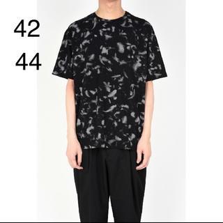 ラッドミュージシャン(LAD MUSICIAN)の18ss BIG T-SHIRT  42 or 44 グレー(Tシャツ/カットソー(半袖/袖なし))