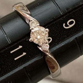 クミキョク(kumikyoku(組曲))のPt900 ダイヤモンド リング(リング(指輪))