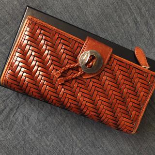 ラルフローレン(Ralph Lauren)のラルフローレン レザーメッシュウォレット コンチョ vintage 男女兼用(財布)