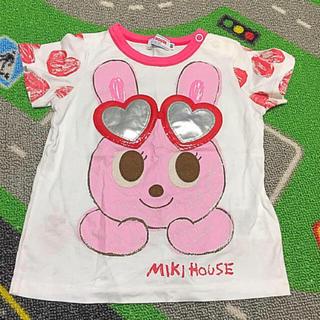 ミキハウス(mikihouse)のレア✨美品✨ミキハウス💗サングラスうさこ Tシャツ 80サイズ(Tシャツ)