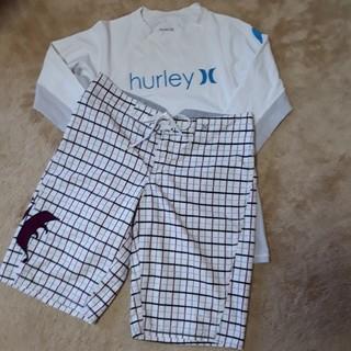 ハーレー(Hurley)のハーレー レディース ラッシュガード & サーフパンツ(水着)
