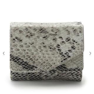 フレイアイディー(FRAY I.D)のフレイ アイディー パイソン ミニ財布(財布)