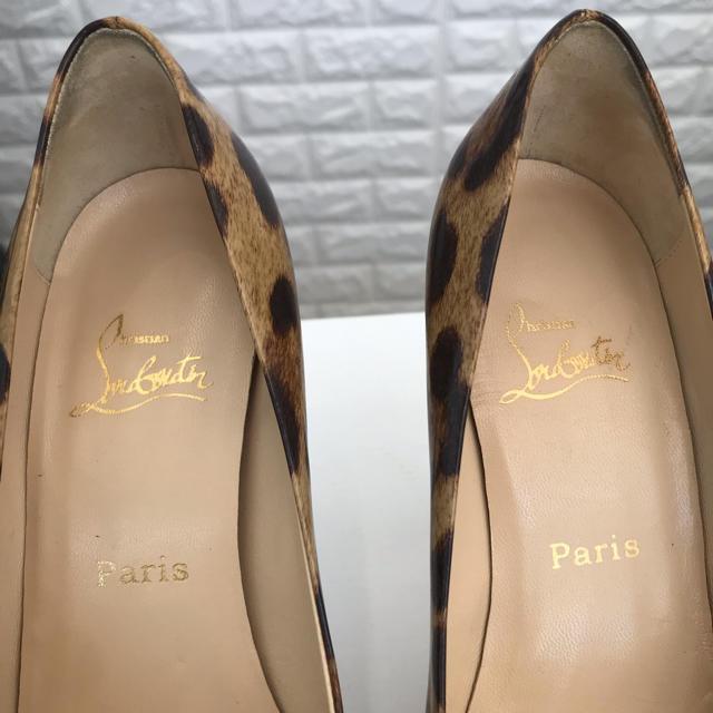 Christian Louboutin(クリスチャンルブタン)のクリスチャンルブタン パンプス サンダル レオパード アニマル レディースの靴/シューズ(ハイヒール/パンプス)の商品写真
