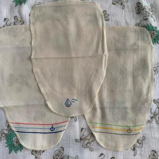 ニシマツヤ(西松屋)のオーガニックコットン汗取りパッド3枚セット新品(肌着/下着)