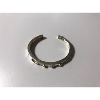 H.P.FRANCE - vintage silver bangle フルーツモチーフ バングル