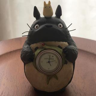 ジブリ(ジブリ)のトトロ 置き時計☆kokopanまさ専用(置時計)