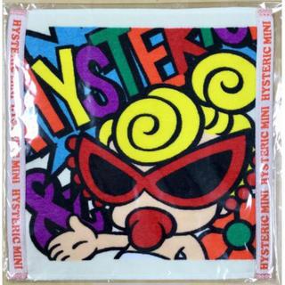 ヒステリックミニ(HYSTERIC MINI)のヒスミニ☆正規品☆新品☆ハンドタオル☆手拭き☆スタイにも☆(タオル/バス用品)