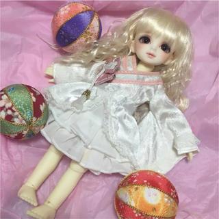 VOLKS - ボークス製ももいろ着物ドレス/幼SD.幼天使サイズ/スーパードルフィー/ドール用