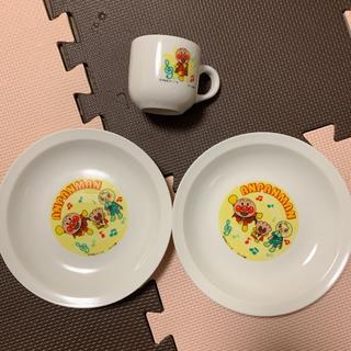 アンパンマン(アンパンマン)の【アンパンマン】お皿/プレート マグカップ 3点セット ✩(食器)