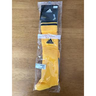 アディダス(adidas)のアディダスadidas サッカーソックス 25〜27 新品未使用(ウェア)